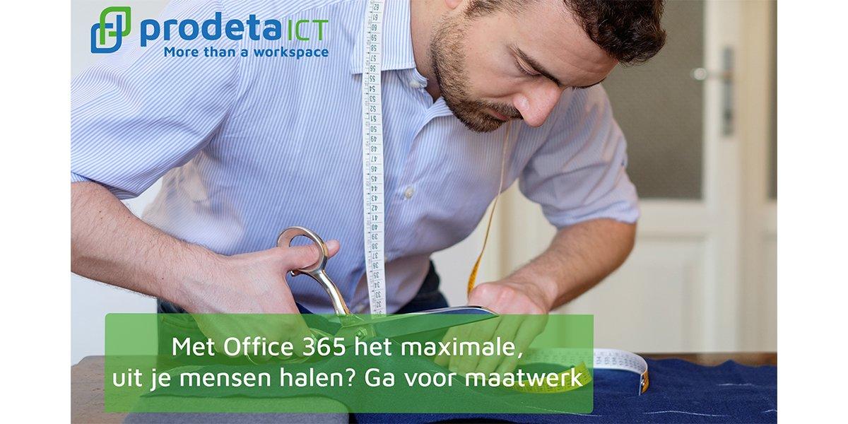 Met Office 365 het maximale uit je mensen halen? Ga voor maatwerk