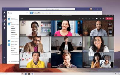 Nieuw in Teams – 3×3 video, hand opsteken en persoonlijke achtergronden